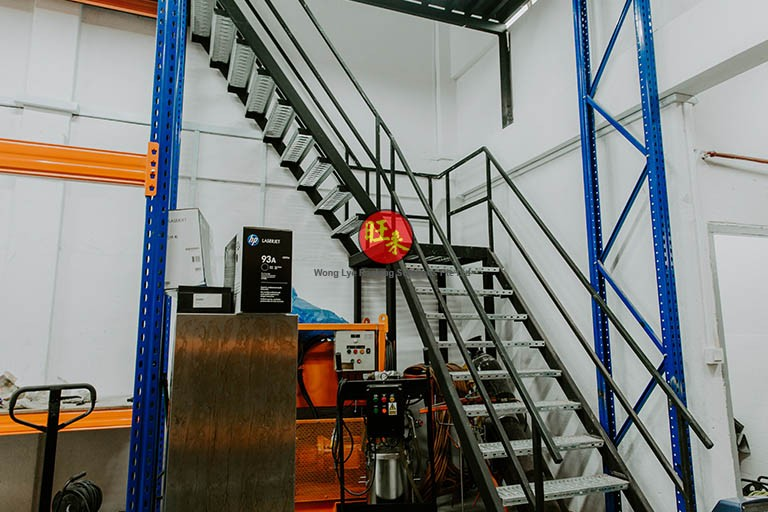 Structure Staircase